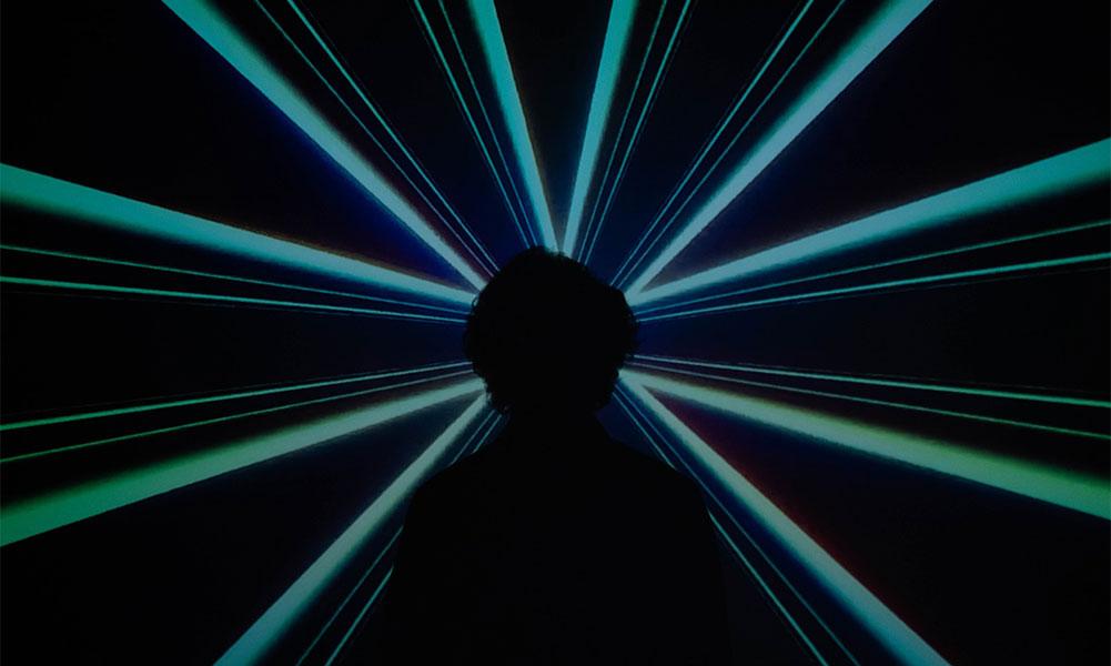 laser centré